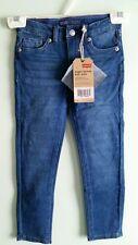 NWT $38 Levis Girls Skinny Knit Jeans SIZE 6 Indigo Blue Wash #336 Pants 346215