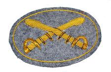AMERICAN CIVIL WAR CONFEDERATE CAVALRY or tressé épées Chapeau Large badge
