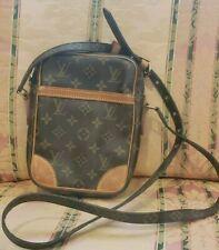 100% Authentic Louis Vuitton Monogram Large Danube Cross body Shoulder Bag
