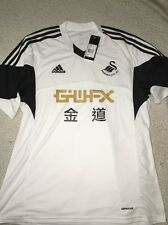 ADIDAS SEANSEA CITY FC HOME JERSEY,NWT,LARGE