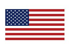 USA American Flag 2 PACK Vinyl Decal Sticker - You Choose Size - FREE SHIPPING