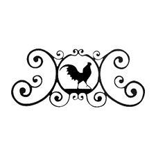 Vill-Hpod1-Rooster - Over Door Plaque