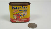 Peter Pan Fresh Bread Coin Bank Rare Vintage Cardboard Paper