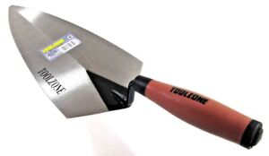 """11"""" Brick Laying Trowel with Rubber Handle Grip / Comfort Cement BL049"""