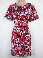 BNWT Definitions Floral Print Satin Dress Size 16 RRP £74
