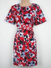 Floral Satin Dress Size 18  BNWT Definitions RRP £74