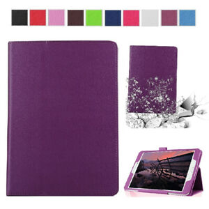 Magnetic Flip Thin Leather Stand Protective Case Cover For Samsung Galaxy Tab E