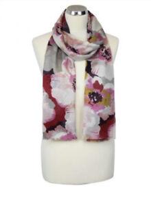 Peony Primrose Printed Floral Scarf