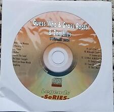 GUESS WHO,GRASS ROOTS & ZOMBIES LEGENDS KARAOKE CDG ROCK 232 AMERICAN WOMAN
