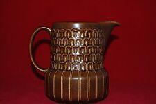 Retro Brown Water/ Milk JUG by Wedgwood....Pennine pattern
