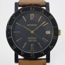 Vintage BVLGARI Carbon BB33VLD Unisex Watch Rare BANGKOK Limited Edition 190/200
