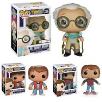 FUNKO POP RETOUR VERS LE FUTUR BACK TO THE FUTURE MARTY DOC