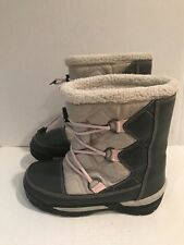 Sorel Snow Boots size 6 / 38 Womens Waterproof Winter Cold Pink Girls Countess