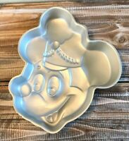 Vintage 1976 Wilton Mickey Mouse Band Leader Birthday Cake Pan Mold Walt Disney