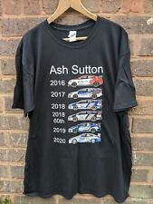 More details for btcc british touring cars championship ash sutton liveries 2016 - 2020 t-shirt