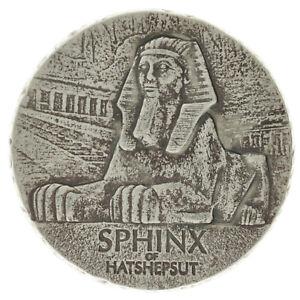 Tchad - Silver 3000 Francs Coin - 5 Oz. - 'Sphinx of Hatshepsut' - 2019 - UNC