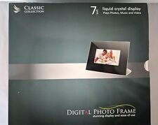 "NEW 7"" LCD Digital Photo Picture Frame  Plays Video, Music, Photos"
