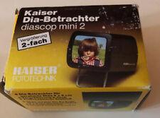 Kaiser Dia-Betrachter 2011 Diascop Mini 2 Slide Viewer