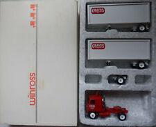 Graves Truck Lines Double Winross Diecast Truck & Trailer 1:64  050620DBT