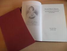 OLD VINTAGE FOLIO SOCIETY BOOK 1970s harriette wilson memoirs biography history