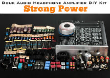 Stereo Headphone Amplifier Dual-Headset Strong Power Amp Preamp DIY Kit /1Set
