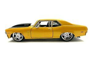 Maisto Pro Rodz 1970 Chevrolet Nova SS 502 Pro Turing Diecast Car 1/18 #825