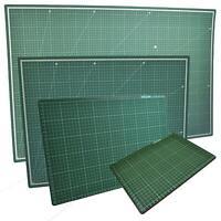 A1, A2, A3 & A4 Healing Mat Cutting Non-Slip Printed Grid Line Craft Board Set
