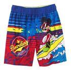MICKEY MOUSE UPF-50 Swim Trunks Bathing Suit w/ Optional Sunglasses Size 3T