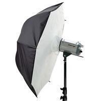 "2x 33"" Umbrella Softbox Soft Brolly Box Studio Photo Flash Light Reflector"