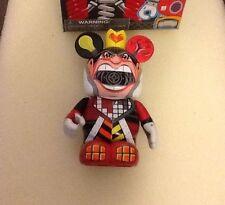 "Disney Vinylmation Park 3"" inch Robots 3 Queen Hearts Bot"