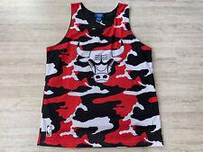 Chicago Bulls NBA Basketball Trikot Shirt Jersey Tank Adidas Original Gr. L