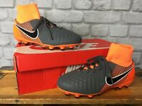 NIKE UK 5 EU 38 FAST AF MAGISTA ACADEMY DYNAMIC FIT FG JUNIOR FOOTBALL BOOTS