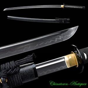 Sharp Uchigatana Japanese Samurai Sword Katana T10 Steel w Clay Tempered #3041