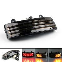 Tri-Bar Fender LED Brake Feu Arrière + Clignotants Lamp Pour FLHX AF