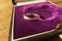 Designer 925 Silber Ring unisex schlicht tolles Bandmuster