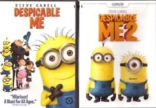 2DVD SET- Despicable Me  & Despicable Me 2 -Animation-PG-NEW