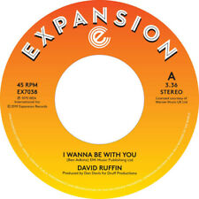 """David Ruffin : I Wanna Be With You VINYL 7"""" Single (2019) ***NEW*** Great Value"""
