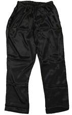 Shadowline Charmeuse Sleep Pants -4500 Black 1X-Large