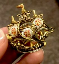 Vintage Ship Pin; Excellent Condition