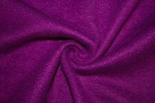 "Magenta Polar Fleece Fabric Solid Colors Anti-Pill 58""-60"" Soft Blanket BTY"