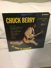 CHUCK BERRY ST. LOUIS TO LIVERPOOL LP 1964 SEALED FIRST PRESS CUT CORNER BEAUTY!