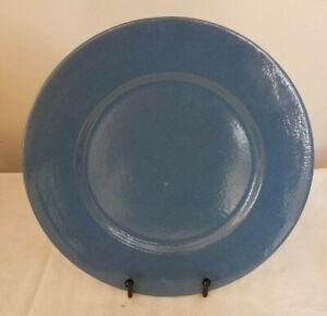 Vintage Blue Paul Revere Pottery Plate 10 inch