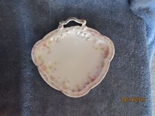 RC Carmen Bavaria Rose Garland 3 Sided Candy Dish with Bow  Rare