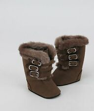 "Winter Boots in Brown  - sized for American Girl® & other 18"" dolls"