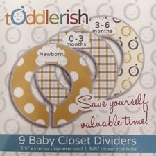 Toddlerish 9 baby closet dividers