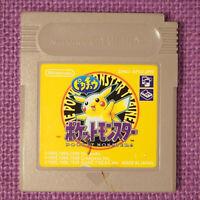 Pokemon Yellow Pikachu Edition  (Nintendo Game Boy GB Gameboy, 1999)  Japan