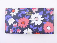 KATE SPADE  CAMERON STREET Blue SAIDY STACY SLIM WALLET