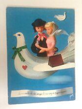CP carte postale amoureux de Peynet N° 64