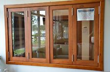 BIFOLD FRENCH WINDOWS, SOLID CEDAR TIMBER, 1930W X 1200H, PRE ORDER