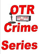 OLD TIME RADIO CRIME SHOWS VOL.1 MP3 DVD 620+ SHOWS